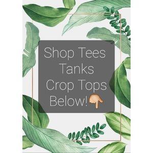 🌿Tee Shirts, Tank Tops & Crop Tops🌿